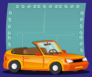 Vector illustration. Car. Stock Image