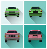 Vector illustration of cars Royalty Free Stock Image