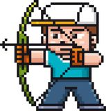 Archery player Royalty Free Stock Photography