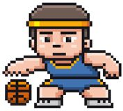 Cartoon Basketball player Royalty Free Stock Images