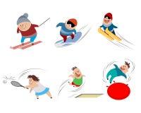 Cartoon children in action Stock Image
