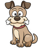 Cartoon Dog. Vector illustration of Cartoon Dog