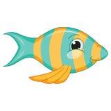 Vector Illustration Of Cartoon Fish Stock Image
