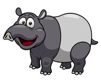 Cartoon tapir Stock Photos