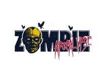 Vector illustration of Cartoon zombie Royalty Free Stock Photos