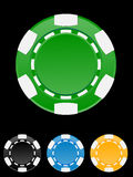Vector illustration of casino chip Stock Photo