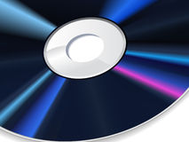 Vector illustration of the cd Stock Images