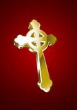 Vector illustration of Celtic cross Stock Images