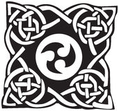 A vector illustration of a Celtic pattern and knot Royalty Free Stock Image