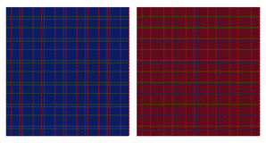 Vector illustration of checkered patterns Royalty Free Stock Photo