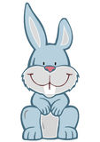 Vector Illustration Cheerful Hare Royalty Free Stock Photography