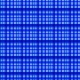 Seamless blue checked pattern Stock Image