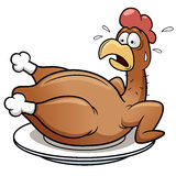 Chicken scared. Vector illustration of Chicken scared vector illustration