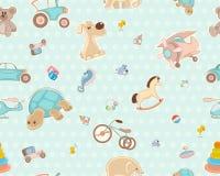 Children`s seamless texture Stock Image