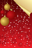 Vector illustration of a christmas Stock Images