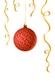 Vector illustration of Christmas ball. With decorations stock illustration