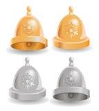 Vector illustration of Christmas bell. Vector illustration of Christmas and New Year Stock Image