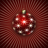 Vector Illustration of Christmas Decoration Balls Stock Photo