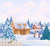 Christmas garden Royalty Free Stock Photos