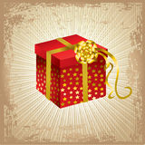 Vector illustration Christmas present Royalty Free Stock Photography