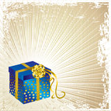 Vector illustration  Christmas present Royalty Free Stock Image