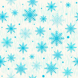 Vector illustration of christmas seamless pattern with snowflake Royalty Free Stock Images