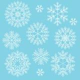 Vector Christmas snowflake Stock Images