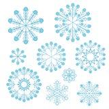 Vector Christmas snowflake Stock Photo