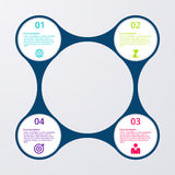 Vector illustration of circles infographics.  vector illustration
