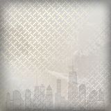 Vector illustration of cities silhouette. EPS 10. Stock Photo