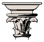 Vector illustration classic column Stock Images