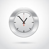 Vector illustration of clock icon Stock Photos