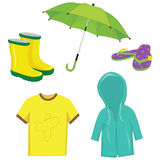 Vector Illustration Of Clothes. Eps10 Royalty Free Stock Photos