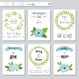 Vector illustration.Collection of cute card Stock Images