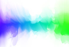 Vector illustration of color blur smoke moving shape. For sound visualization. Futuristic dynamic design Royalty Free Stock Photos