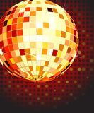 Vector illustration of color disco ball Stock Photo