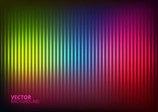 Vector Illustration of a Colored  Music Equalizer Royalty Free Stock Photo