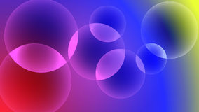 Vector illustration of a colorful bubbles background. Vector illustration of bubbles on a colorful background Stock Photos
