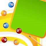 Colorful Snooker Ball Stock Images