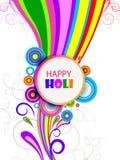 Vector illustration of Colorful splash for Holi background stock photo
