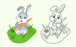 Vector illustration coloring book for kids vector illustration