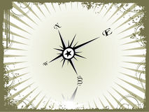Vector illustration of compass Royalty Free Stock Photos