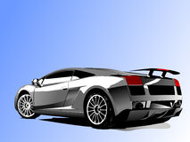 Vector illustration of concept-car Royalty Free Stock Images