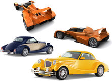 Vector illustration of concept-car Stock Photo