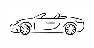 Vector illustration concept of Car icon illustration on white background vector illustration
