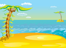 Vector illustration. The concept of leisure travel. Royalty Free Stock Images