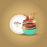 Vector illustration of a confection Stock Photography