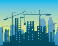 Vector illustration. Construction. Stock Photos
