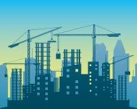 Vector illustration. Construction. Stock Photos