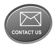 Contact us button stock illustration
